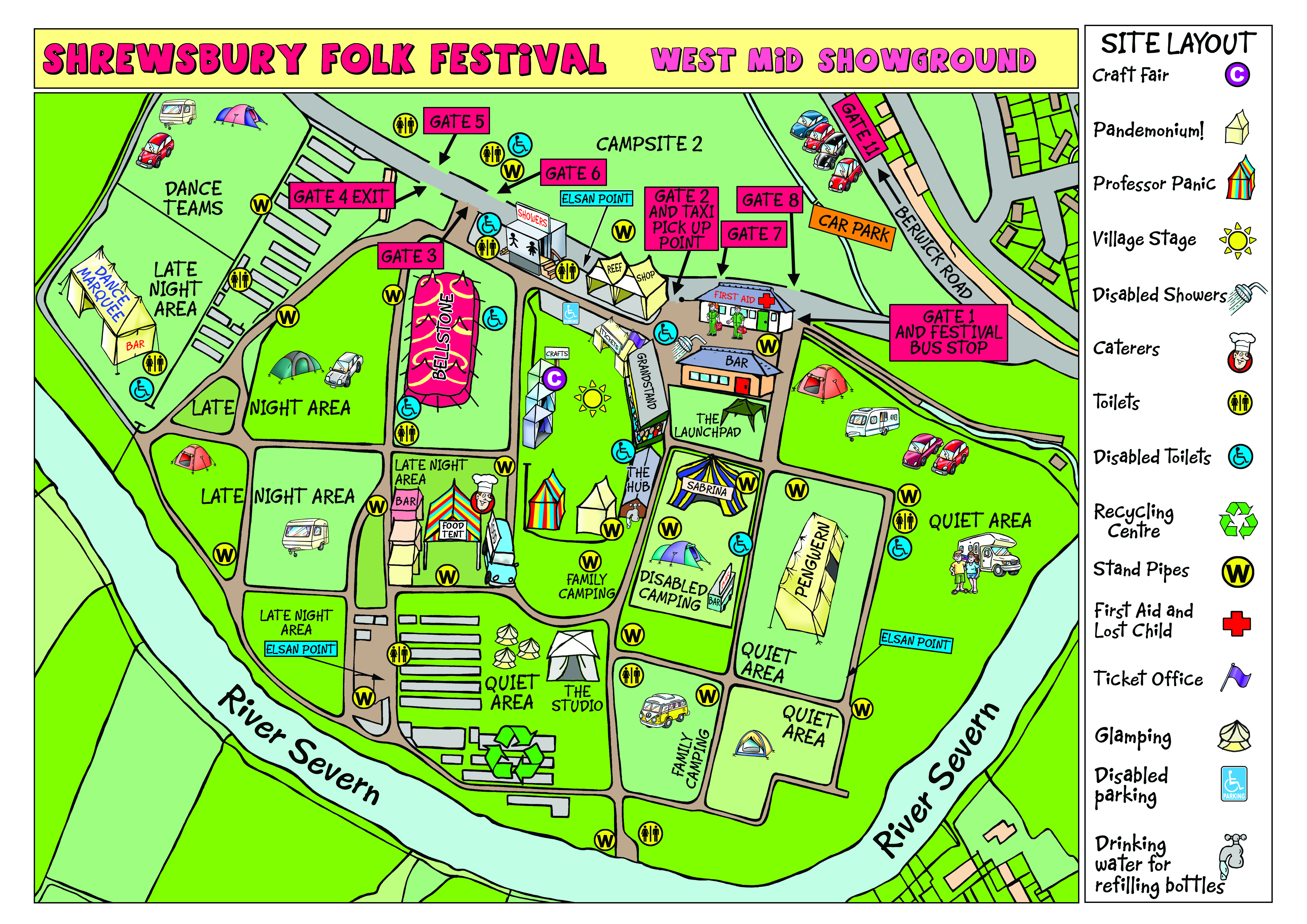 Festival Maps – Shrewsbury Folk Festival on vacation travel map, parks map, fishing map, hiking map, summer vacation map, travling map, the mountains map, fatality map, dorm room map, campground map, dangerous animals map, restroom map, treasure map, frontier town ocean city md map, international food map, forest areas map, underground lakes map, tarp map, places to go map,