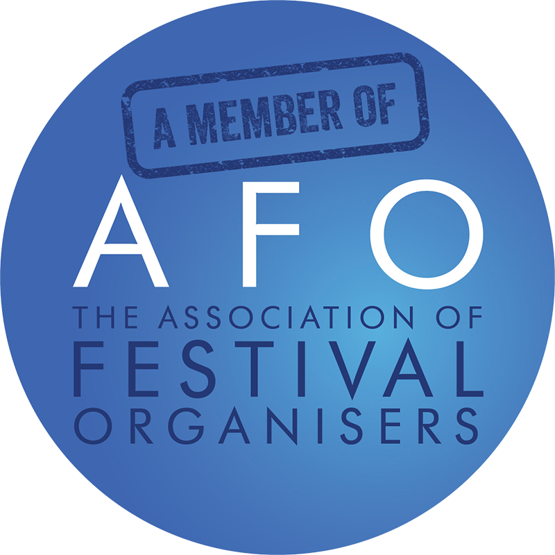 A member of AFO. The Association of Festival Organisers