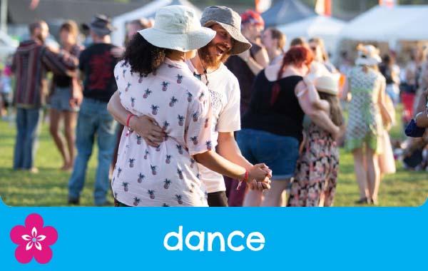 Dance and morris at Shrewsbury Folk Festival