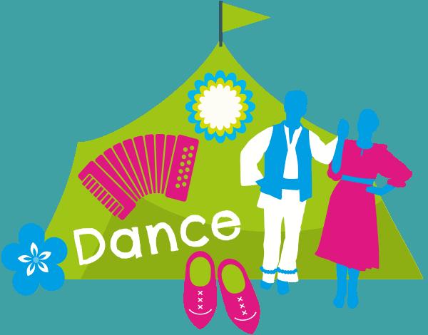 Virtual dance tent